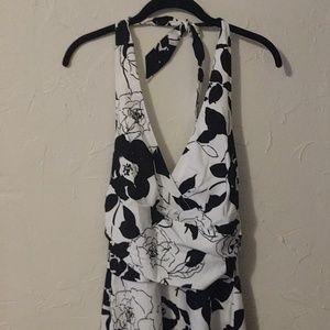 White House Black Market Floral Dress 2